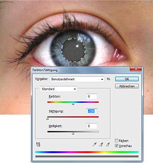Rote Augen aus Fotos entfernen - Bild 2