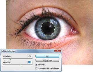 Rote Augen aus Fotos entfernen - Bild 3